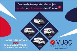 VUAC - Déménagement et transport de meubles