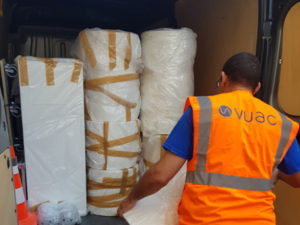 VUAC - Solution de transport d'objets lourds et volumineux en express